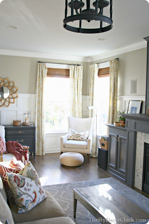 new family room @thriftydecorchick
