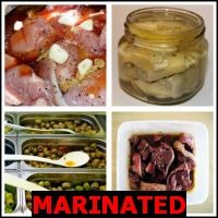 MARINATED- Whats The Word Answers