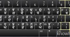 Punjabi Joy Font Keyboard With English Characters ~ Knowledge Bite