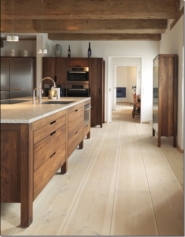 rustic kitchen floor ideas uso colore marrone e interni 4996