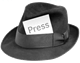 journalist-hat