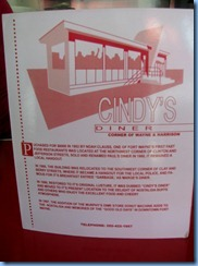 4076 Indiana - Fort Wayne, IN - Lincoln Highway (Harrison St) - Cindy's Diner (originally Noah's Ark) - 1952 Valentine diner
