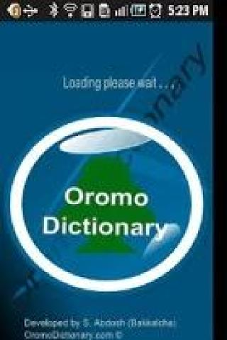 Oromo Dictionary - screenshot