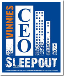 Vinies CEO Sleepout Logo