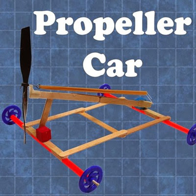 A Propeller Car from Instructables