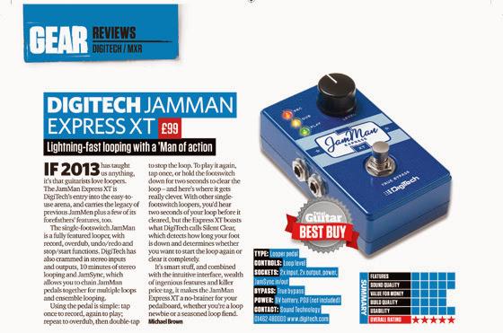 DigiTech | JamMan Express XT | Total Guitar magazine review