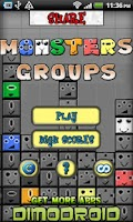 Screenshot of Monsters Groups
