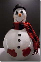 snowman and ornaments 003