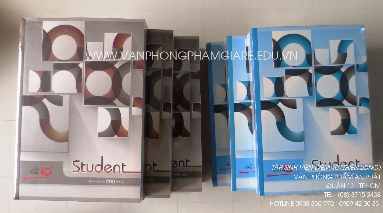 Tập sinh viên Student Điểm 10 của Thiên Long