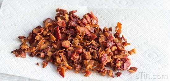 Cách nướng khoai tây kẹp phô mai thịt xông khói siêu ngon