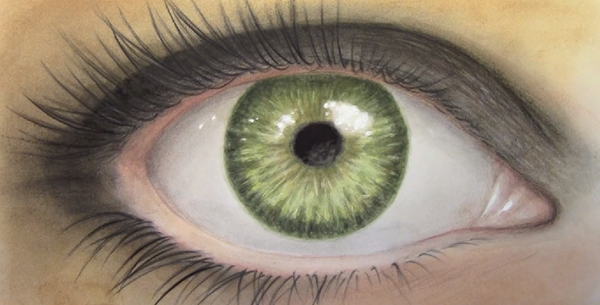 mark rilley realistic eye
