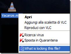 LockHunter voce nel menu contestuale