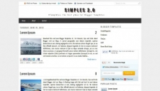 Simples 2 0 blogger template 225x128