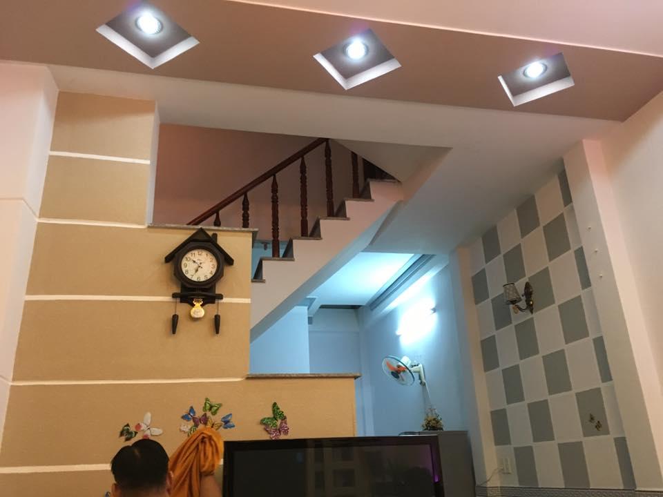 Nhà 1 trệt 3 lầu Bình Hưng Hòa A Bình Tân 01
