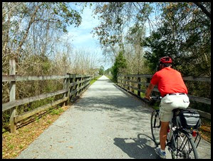 Blackwater Heritage Bike Trail - 16 miles round trip