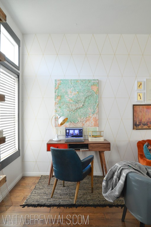 paint your room diy sharpie wallpaper tutorial vintage revivals