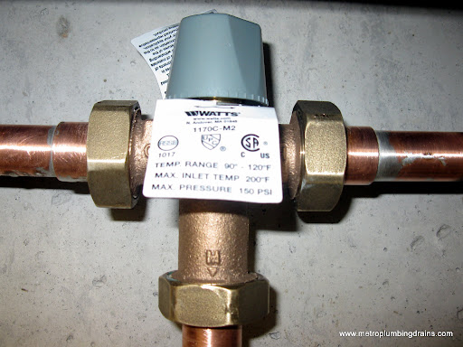 Gallery Replace Hot Water Mixing Valve
