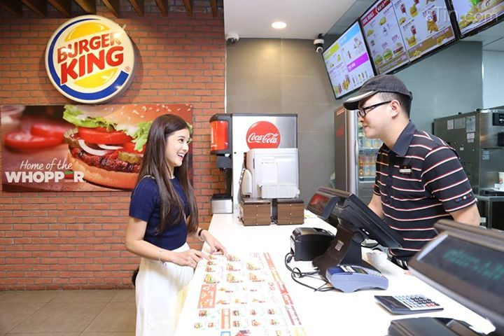 Khoảnh khắc cùng Burger King