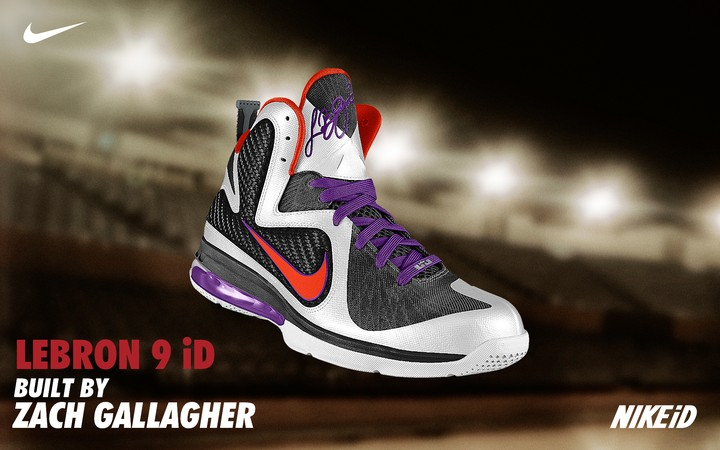 bcb7226a57b0 Nike LeBron 9 Available for Custom Builds at Nike iD Facebook ...