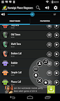 Screenshot of Nostalgic Phone Ringtones