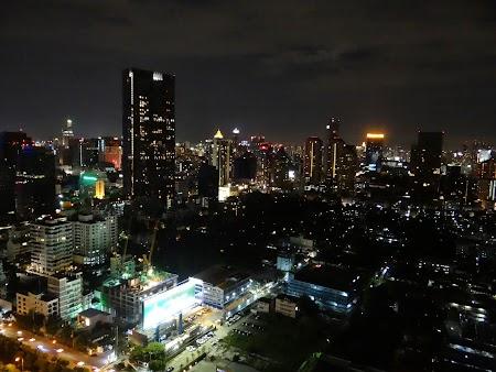 Panorama din balcon - noaptea
