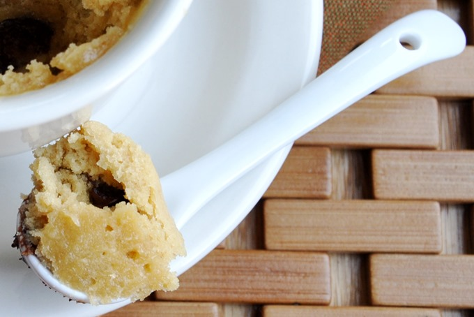 one minute chocolate chip cookie 033