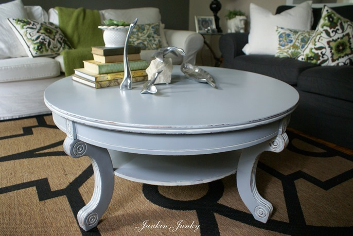 Painted coffee table at Junkin Junky