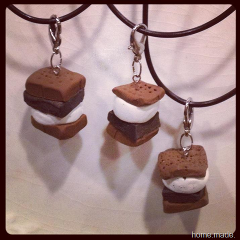 smores necklace