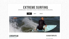 Extreme surfing blogger template 225x128