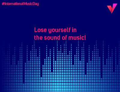 Music is life that's why our hearts have beats ChannelVIndia InternationalMusicDay