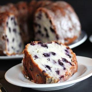 Lemon Blueberry Pound Cake.