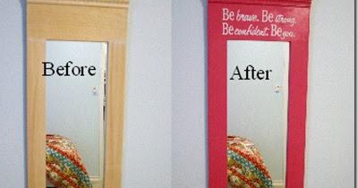 Mud Pie Studio Diy Mirror Makeover For Little Girls Room
