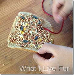 Bread Bird Feeder @ whatilivefor.net