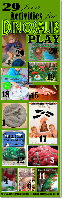 50 fun, creative, and unique Dinosaur craft, dinosaur activities for kids, and dinosaur themed sensory activities. Perfect for toddler, preschool, kindergarten, first grade, 2nd grade, 3rd grade dinosaur theme.