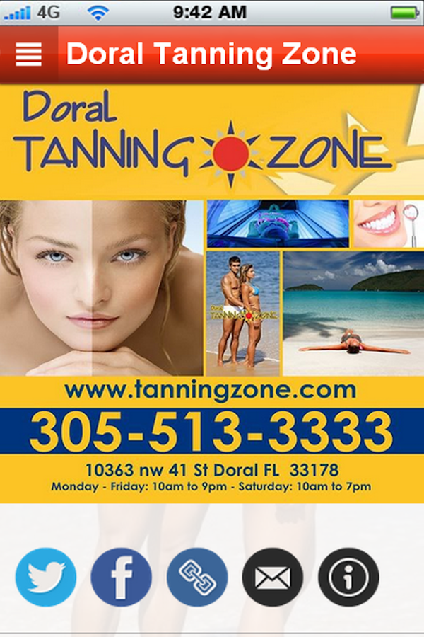 Doral Tanning Zone - screenshot