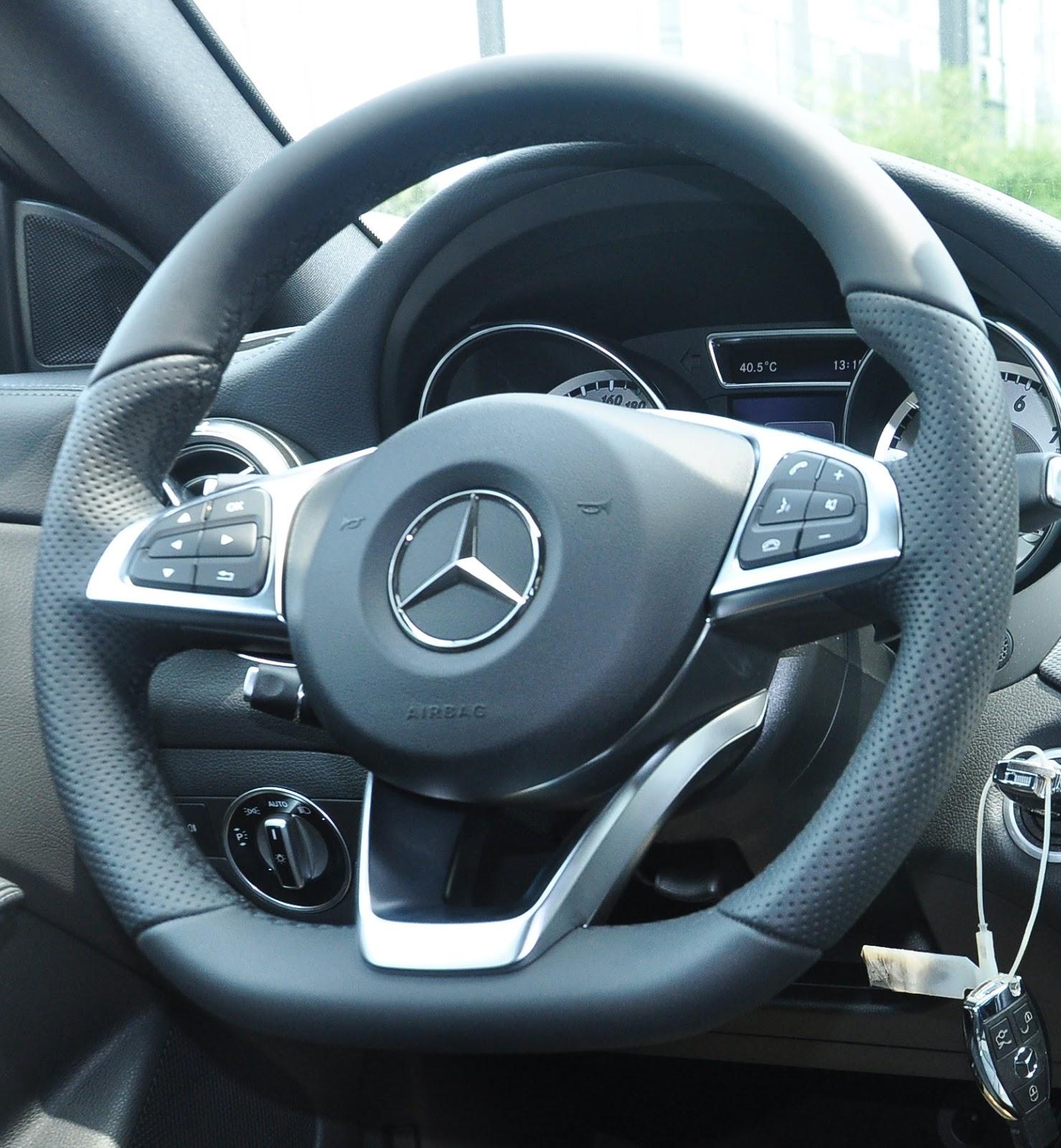 Nội thất xe Mercedes Benz CLA250 4MATIC New Model 03