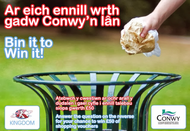 Bin It To Win It Conwy