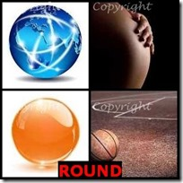 ROUND- 4 Pics 1 Word Answers 3 Letters