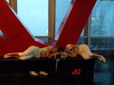 Andreia Birtu si Andra Miclean la Shanghai