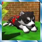 Cute Pocket Puppy 3D icon