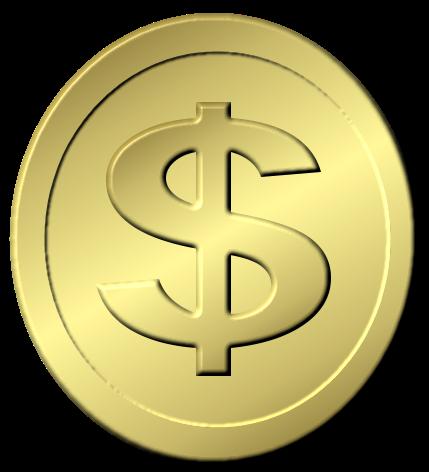 Gold Coins Sample Dollar Coin