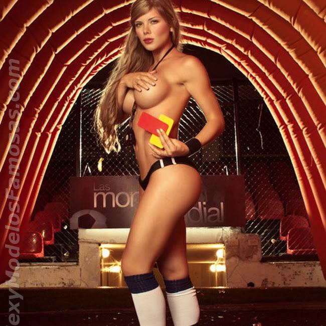 Sofia Jaramillo Las Monas Del mundial Foto 23