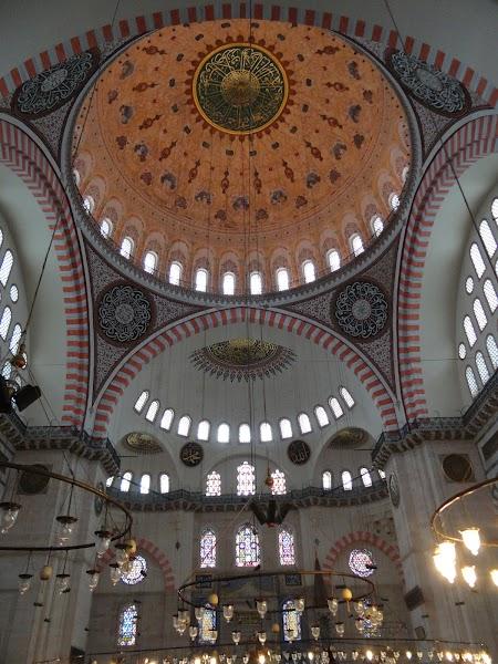 Obiective turistice Istanbul: Moscheea lui Suleyman Magnificul