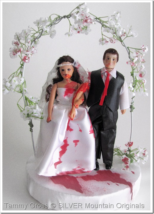 Tamdoll Zombie Wedding Topper