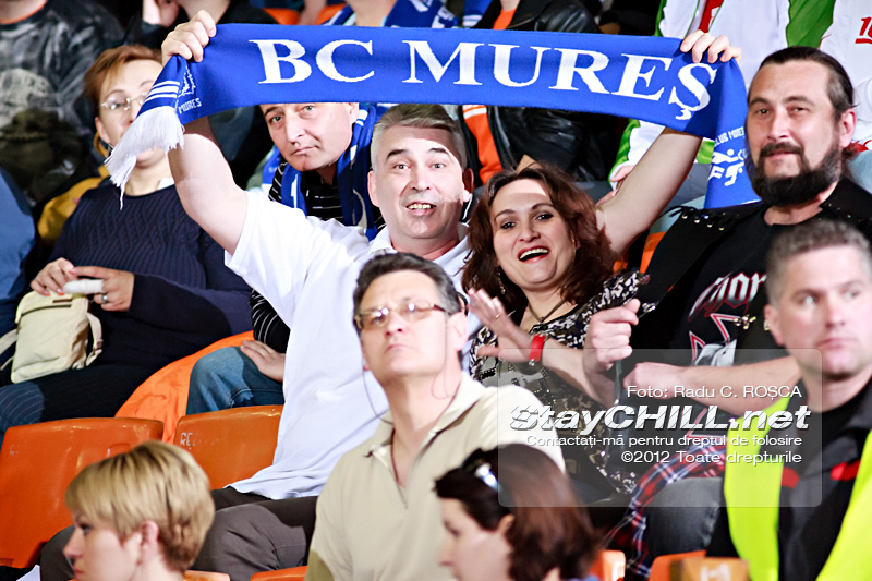 Familie de suporteri / BC Mureș - CSU Asesoft, 24 martie 2012