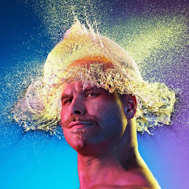 Tim Tadder Creates Water Wigs for Bald Men
