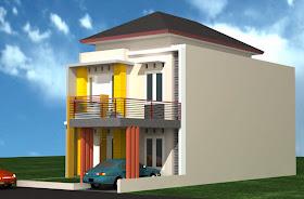 gambar rumah idaman: gambar rumah 2 lantai terbaru