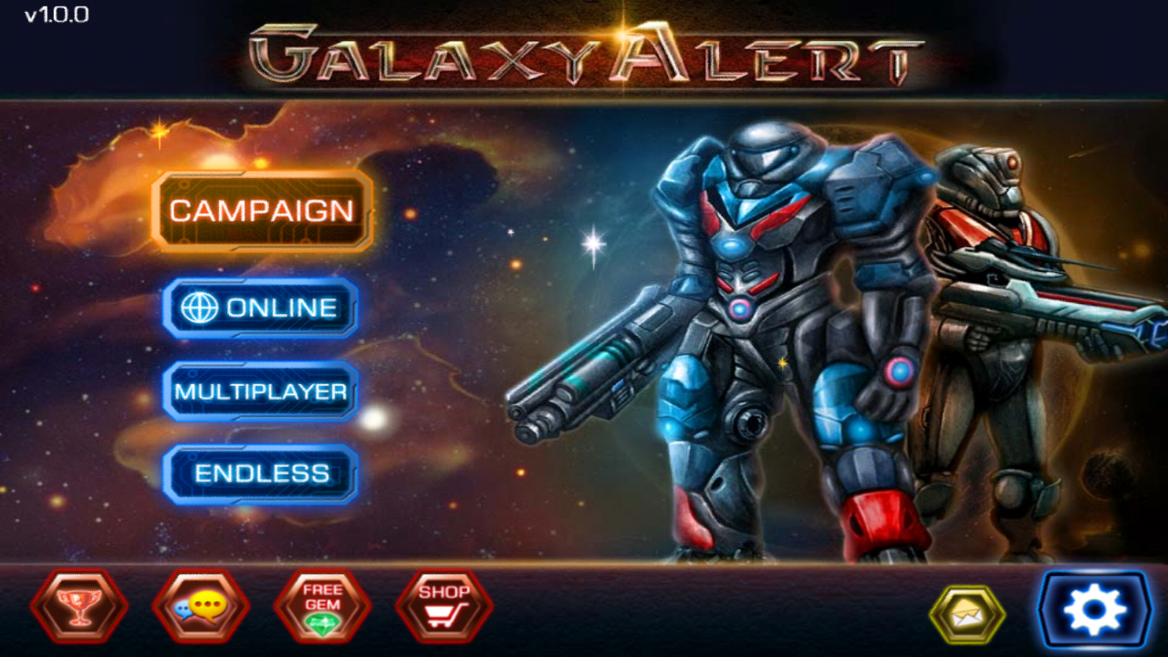 Galaxy Alert ( Red Alert )- screenshot