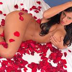 Andrea Rincon, Selena Spice Galeria 48 : Solo Para Ti, Corazon Petalos De Rosa En La Cama – AndreaRincon.com Foto 30
