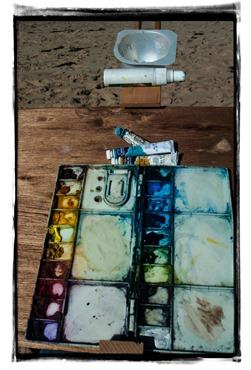 Replenishing my palette with cotman colours